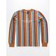 HUF Figueroa Stripe Mens T-Shirt