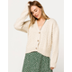VOLCOM Bettergetter Cream Womens Cardigan