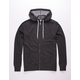 INDEPENDENT TRADING COMPANY Charcoal Mens Zip Hoodie