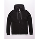 INDEPENDENT TRADING COMPANY Black Mens Zip Hoodie