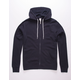 INDEPENDENT TRADING COMPANY Navy Mens Zip Hoodie