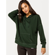 SKY AND SPARROW Contrast Stitch Pine Womens Hoodie