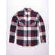 COASTAL Tricheck Buffalo Plaid Mens Flannel Shirt