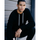 INDEPENDENT TRADING COMPANY Black Mens Hoodie