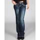 ZCO Art Deco Womens Bootcut Jeans