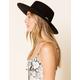 WEST OF MELROSE Boater Hat