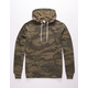 INDEPENDENT TRADING COMPANY Camo Green Mens Hoodie