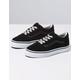 VANS Glitter Sidestripe Old Skool Black & True White Girls Shoes