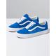 VANS Pig Suede Blue Old Skool Shoes