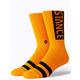 STANCE OG Tangerine Mens Crew Socks