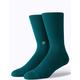 STANCE Icon Green Mens Crew Socks