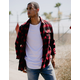 RSQ Alta Flannel Red Mens Shirt