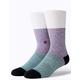 STANCE Neapolitan Purple Mens Crew Socks