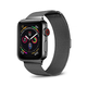 POSH TECH 38mm Stainless Steel Black Apple Watch Wristband