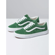 VANS Old Skool Deep Grass Green & Off White Shoes