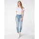RSQ High Rise Stripe Womens Ankle Skinny Jeans