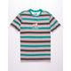 NEON RIOT Pink Panther Stripe Mens T-Shirt