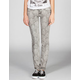ZCO Baroque Print Womens Skinny Jeans