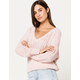 BILLABONG Higher V-Neck Womens Sweater