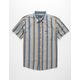 BRIXTON Charter Vertical Print Mens Shirt