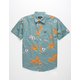 BRIXTON Charter Print Mens Shirt