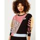 VANS x The Nightmare Before Christmas Sally Patchwork Womens Crew Sweatshirt