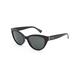 VON ZIPPER Ya Ya! Black Gloss Sunglasses