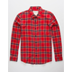 VSTR Hunter Red Plaid Flannel Shirt