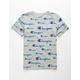 CHAMPION AOP Script Logo Boys T-Shirt