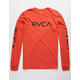 RVCA Big RVCA Burnt Red Mens T-Shirt