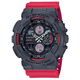 G-SHOCK GA140-4A Black & Red Watch