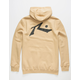 RUSTY Competition Tan Mens Hoodie