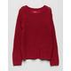 WHITE FAWN Tape Yarn Girls Sweater