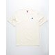 RUSSELL ATHLETIC Baseliner Ivory Mens T-Shirt