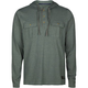 RVCA Kindling Mens Hooded Henley