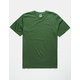RUSSELL ATHLETIC Baseliner Forest Mens T-Shirt