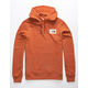 THE NORTH FACE Patch Burnt Orange Mens Hoodie