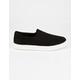 SODA Reign Black Womens Slip-On Shoes