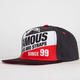FAMOUS STARS & STRAPS Full Front Mens Snapback Hat