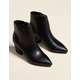 STEVE MADDEN Missie Black Womens Booties