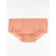FULL TILT Seamless Lace Trim Peach Boyshorts
