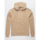 INDEPENDENT TRADING COMPANY Khaki Mens Hoodie