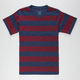 BLUE CROWN Rugby Stripe Boys T-Shirt