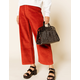 WEST OF MELROSE Melrose Cutout Black Bowler Bag