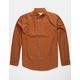 VSTR Oxford Stripe Mustard Mens Shirt