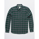 VSTR Check Yoself Green Mens Flannel Shirt