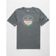 HURLEY Hasher Dark Green Boys T-Shirt