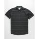HURLEY Thompson Woven Black Mens Shirt