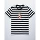 HUF x Betty Boop Stripe Betty Boop Mens T-Shirt