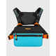 OFFICIAL Utility Black and Teal Mens Chest Bag
